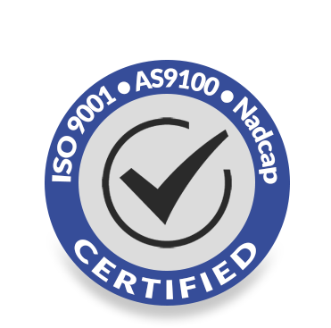 iso 9001 as 9100 certified