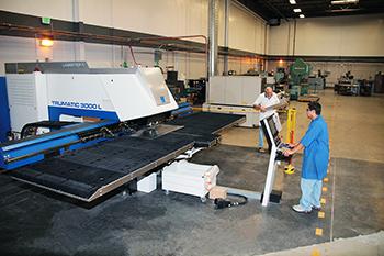 rah industries shop floor punch press