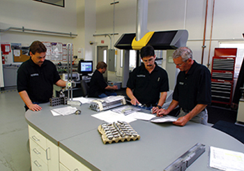 quality control inspection room